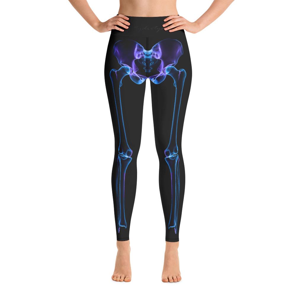 d778915efbc8d Skeleton Yoga Leggings – Atomic Pineapple