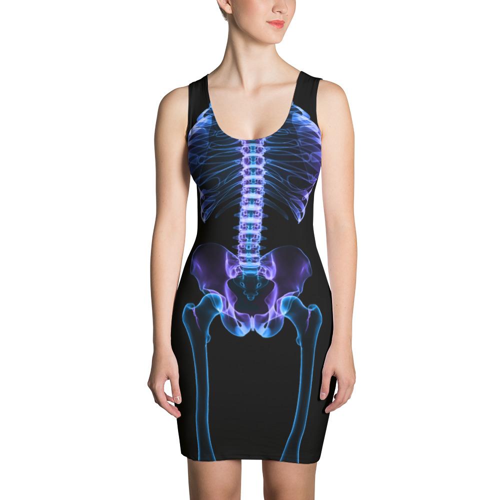 95784be710c9a Skeleton Dress – Atomic Pineapple